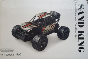 Used Bigfoot Remote Control car 2.4 Ghz in Dubai, UAE
