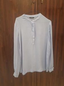 Used Sacoor blouse sky blue in Dubai, UAE