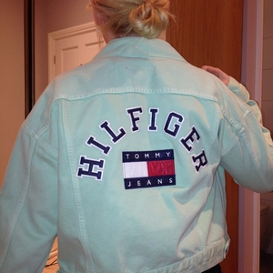 Used Tommy Hilfiger denim jacket in Dubai, UAE