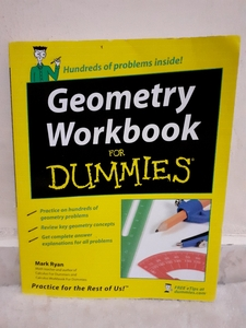 Used Geometry Workbook for dummies in Dubai, UAE