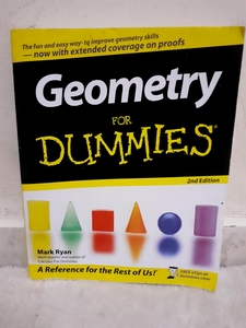 Used Geometry for dummies book in Dubai, UAE