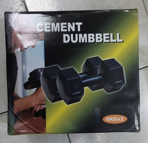 Used Dumbbells 6kg in Dubai, UAE