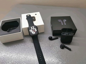 Used Airpod + Watch series 6 plus in Dubai, UAE