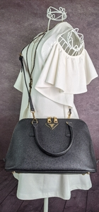 Used Prada Dome Safiano Leather Two Way Bag in Dubai, UAE