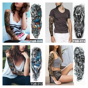Used Waterproof Tattoos Unisex 4 Pcs +Gift 🎁 in Dubai, UAE