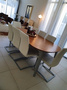 Used Extendable 8 seater dining table in Dubai, UAE