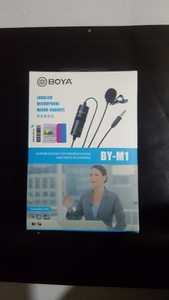 Used Boya BY-M1Microphone for voice recording in Dubai, UAE