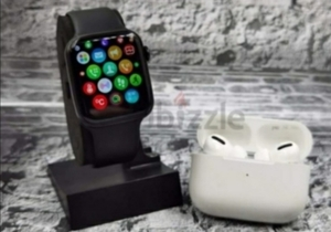 Used T500 SMART WATCH SERIES 5 AIRPODS PRO GR in Dubai, UAE