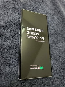 Used Samsung Galaxy Note 10 plus 5G in Dubai, UAE