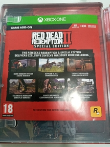 Used Red dead redemption ll xbox one in Dubai, UAE
