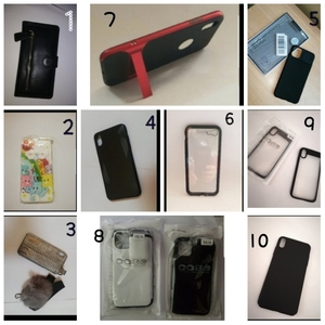 Used IPhone's (14pcs) Cover Brand New  Offer in Dubai, UAE