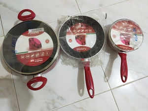 Used 5pcs Cookware Set Made In Italy - AM in Dubai, UAE