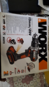 Used Worx drill with charger and batteries in Dubai, UAE
