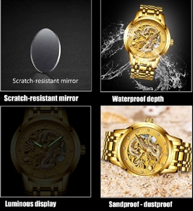 Used couples water resistant dragon 🐉watch in Dubai, UAE
