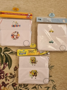 Used New Mothercare vests for 3 yrs old in Dubai, UAE