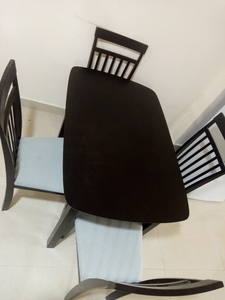 Used Dining table 4 chairs in Dubai, UAE