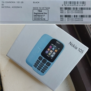 Used Nokia 105 Veitnam TRA Approved New pack in Dubai, UAE