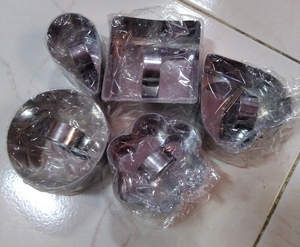 Used Stainless steel mousse mould 5 in Dubai, UAE