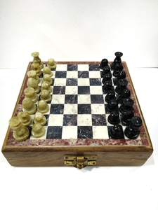 Used Handcrafted Stone Chess ! in Dubai, UAE