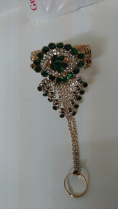 Used Brand new new fashion bracelet with ring in Dubai, UAE