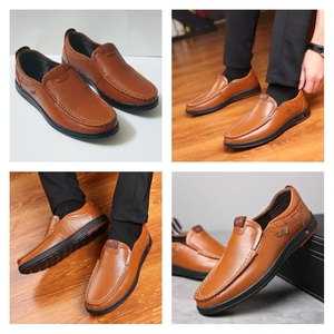 Used Mens Causal Leather Shoes 37 Size NEW in Dubai, UAE