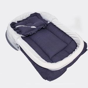 Used Baby Sleeping bed with Mosquito net blue in Dubai, UAE