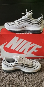 Used Nike air max 97 floral shoes for women in Dubai, UAE