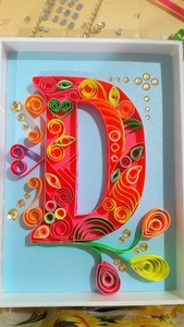 Used Letter initial for personalized gift in Dubai, UAE