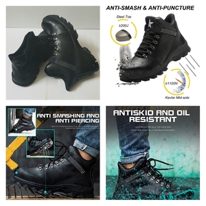 Used Mens High Quality Safety Shoes Black New in Dubai, UAE