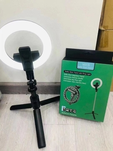 Used Ring light with tripod stand.. rechargea in Dubai, UAE
