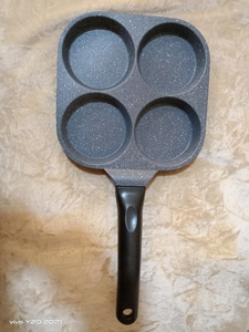 Used Non stick nice material 4section fry pan in Dubai, UAE