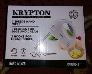 Used New hand blender.                      ~ in Dubai, UAE