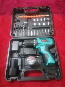 Used new Boss cordless drill machine 18V in Dubai, UAE