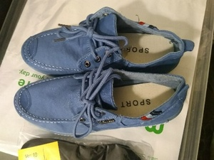 Used men's denim casual shoes in Dubai, UAE
