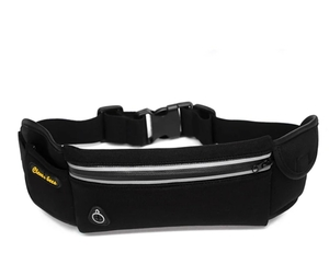 Used waterproof running waist Bag Black in Dubai, UAE