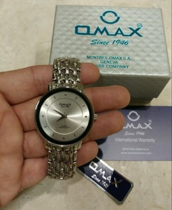 Used Omax Analog QUARTZ for men's S.S in Dubai, UAE