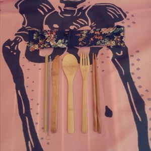 Used Bamboo Utensils Flatware in Dubai, UAE