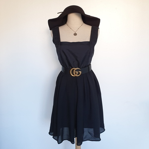 Used Black designer dress in Dubai, UAE