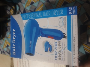 Used Hair dryer foldable brand new in Dubai, UAE