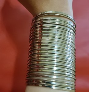 Used Wide style opened bangle in Dubai, UAE