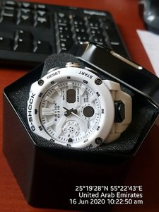 Used Dual Watch White in Dubai, UAE
