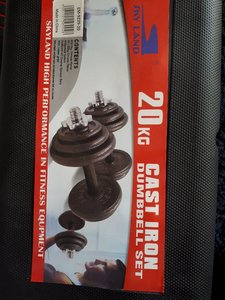 Used SkyLand dumbbells 15-50kg in Dubai, UAE