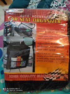 Used Car Seat Organizer Brand New in Dubai, UAE