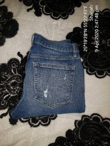 Used Jeans  31 size new Gap brand❤ in Dubai, UAE
