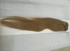 """Used Cougar Clip In Remy Hair 18"""" Colour #8. in Dubai, UAE"""
