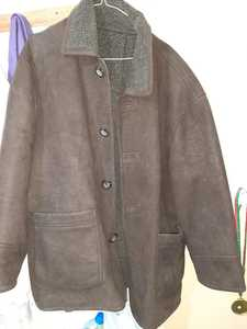 Used Folks Leather Jacket with Wool XXL in Dubai, UAE