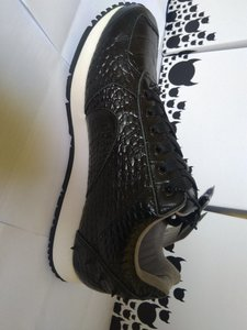 Used MEN SHOES - BOSTON BLACK Croco (KRUZIN) in Dubai, UAE