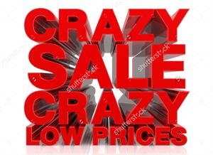 crazy sale low price