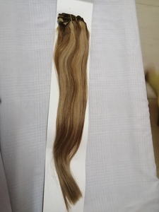 "Used Cougar Clip In Remy Hair 18"" Colour #27. in Dubai, UAE"