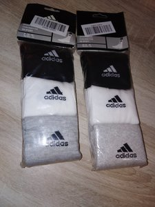 Used 2 Packs Adidas Socks in Dubai, UAE